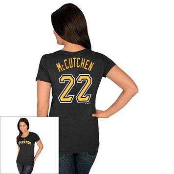 Women's Majestic Pittsburgh Pirates Andrew McCutchen Tee