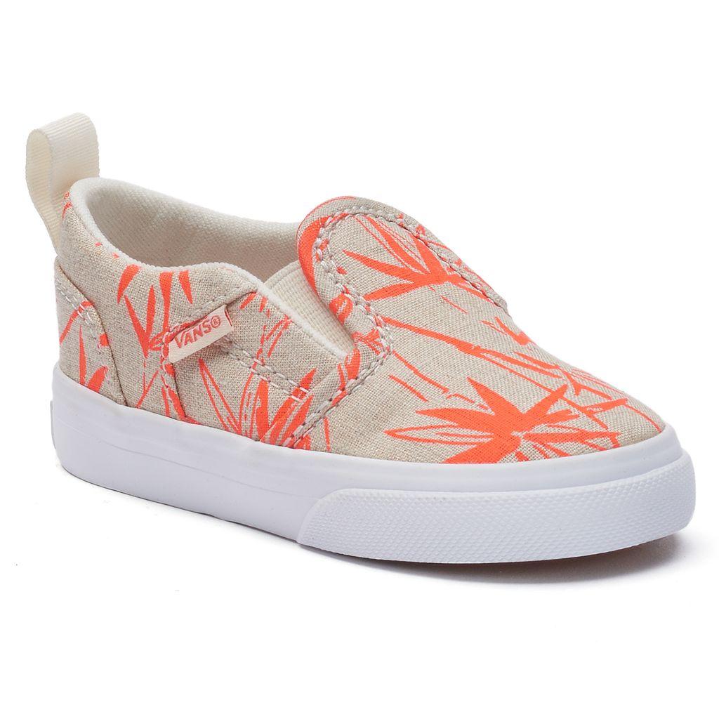 Vans Asher Animal Skate Shoes - Toddler Girls
