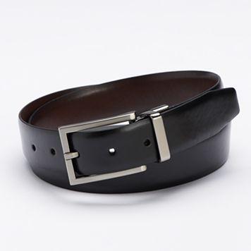 Apt. 9® Calf Grain Reversible Dress Belt - Men