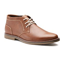 Dexter Mens Leather Chukka Shoes