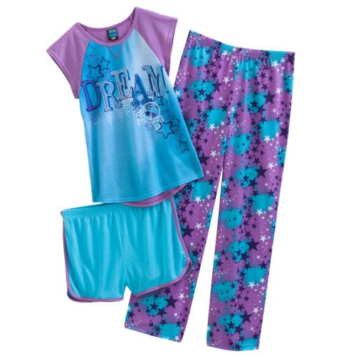 Jelli Fish Dream Star Pajama Set - Girls