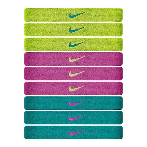 Nike 9-pk. Sport Hairbands 0aef7dc8a167