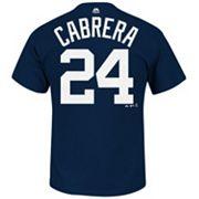 Men's Majestic Detroit Tigers Miguel Cabrera Tee