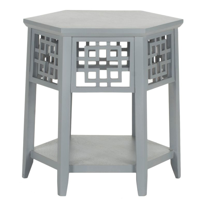 Safavieh Zelda End Table, Grey
