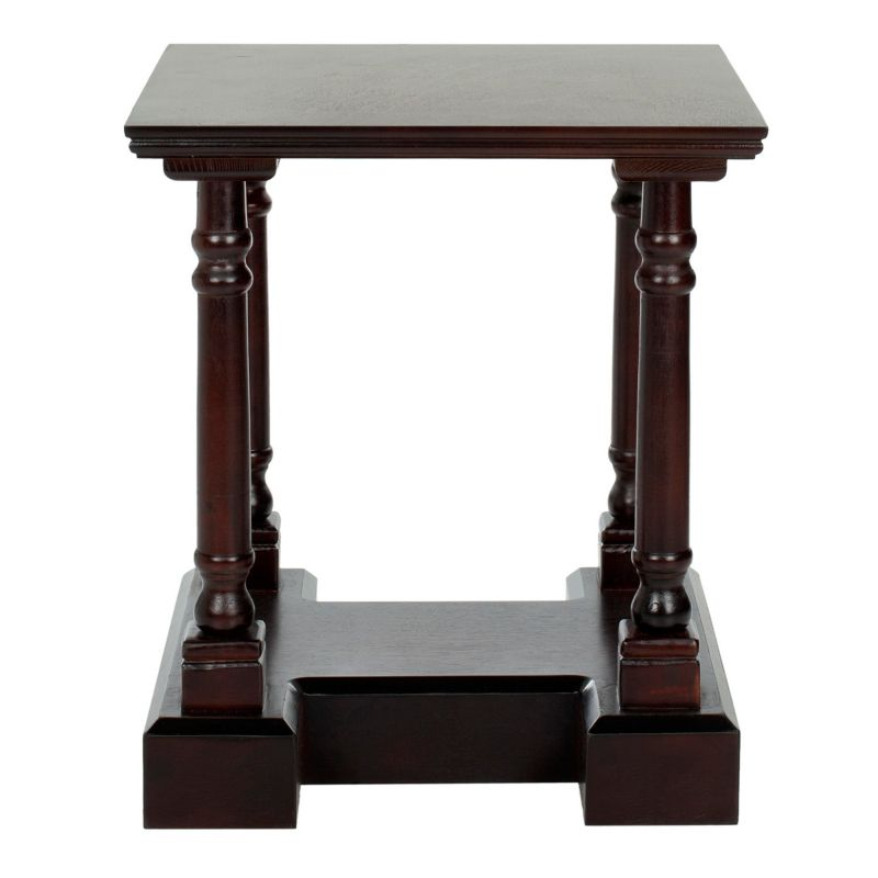 Safavieh Endora End Table, Dark Red