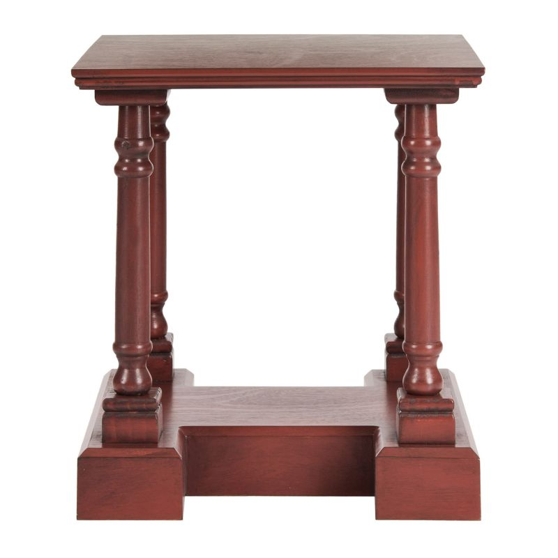 Safavieh Endora End Table, Red