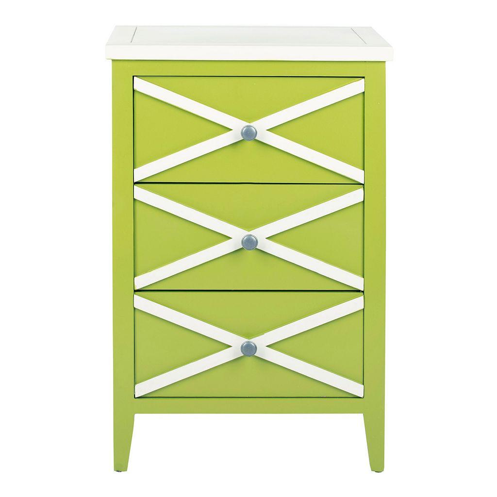 Safavieh Sherrilyn 3-Drawer Side Table