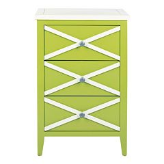 Safavieh Sherrilyn 3-Drawer Side Table