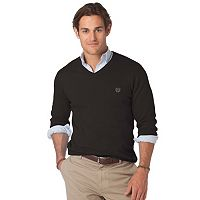 Big & Tall Chaps North Shore Classic-Fit V-Neck Sweater