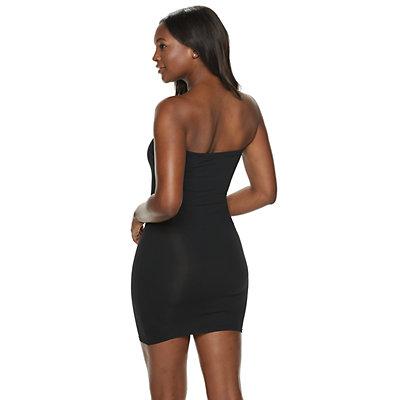 Red Hot by Spanx Sleek Slimmers Strapless Full Slip 2253 - Women's