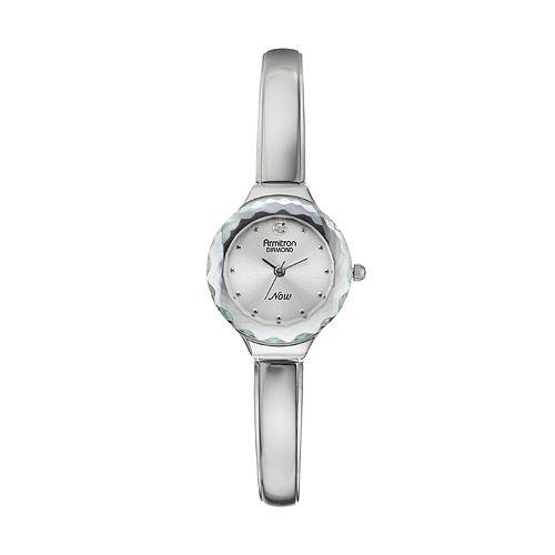 Armitron NOW Women's Diamond Half-Bangle Watch - 75/5198SVSV