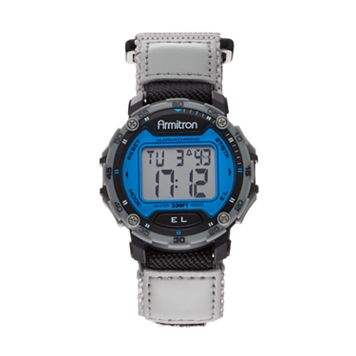 Armitron Men's Digital Chronograph Watch - 40/8291BLGY
