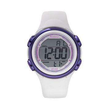 Armitron Women's Digital Watch - 45/7037WHT
