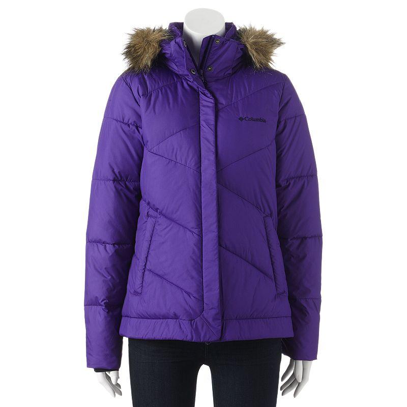 Purple Puffer Outerwear Kohl S