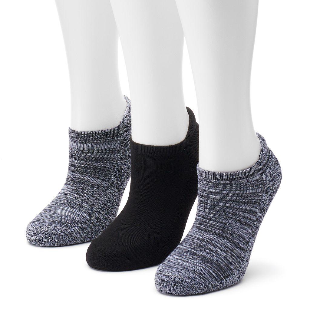 SO® 3-pk. Performance Tab Low-Cut Socks