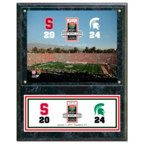 Michigan State Spartans 2014 Rose Bowl Champions 12'' x 15'' Plaque