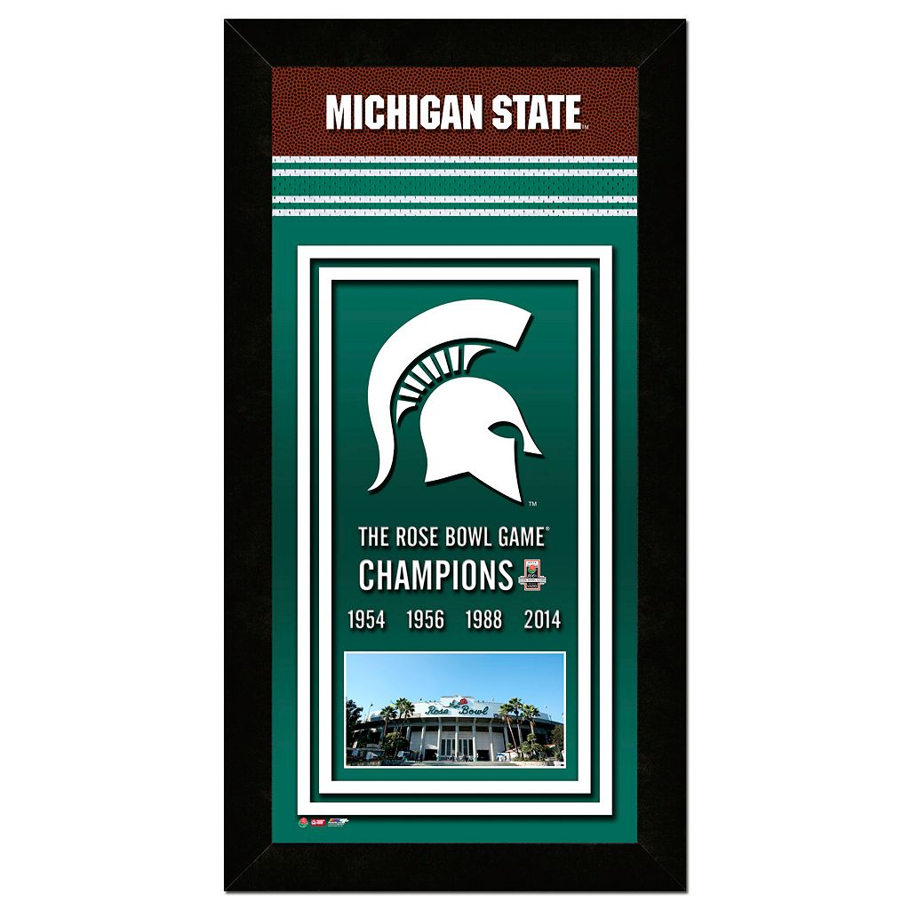Michigan State Spartans Rose Bowl Champions 4.5