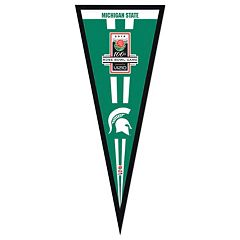 Michigan State Spartans 2014 Rose Bowl Champions 13' x 33' Pennant Frame