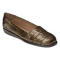 A2 by Aerosoles Softball Women's Stitch 'N Turn Pleated Flats