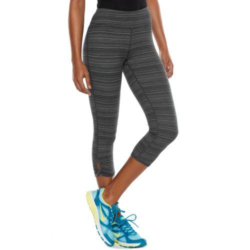 Tek Gear® Printed Keyhole Capri Yoga Leggings - Women's