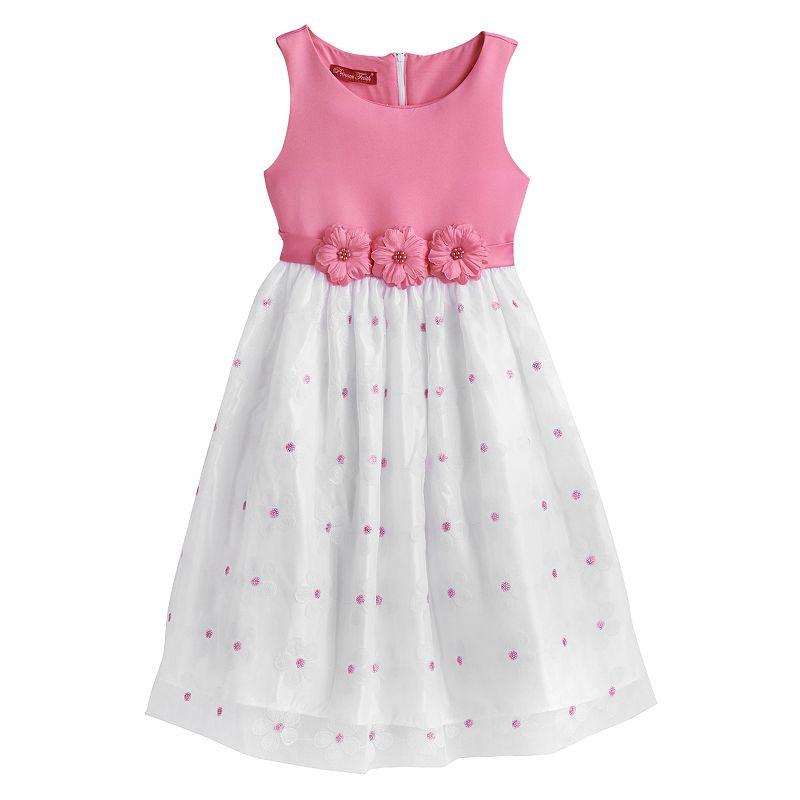 Princess Faith Floral Dress - Girls 7-16