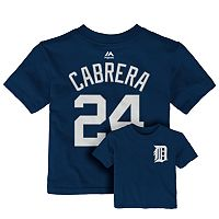 Toddler Majestic Detroit Tigers Miguel Cabrera Tee