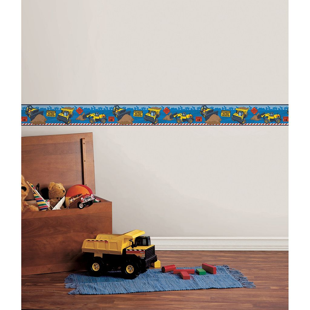 Tonka Wall Decal Border by WallPops