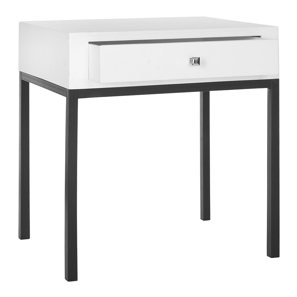 Safavieh Adena White End Table