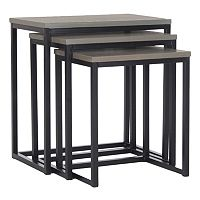 Safavieh Kaleb 3-pc. Nesting Table Set