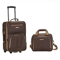 Rockland 2 pc Wheeled Luggage Set