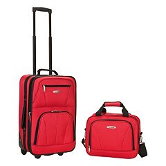 Rockland 2-Piece Wheeled Luggage Set