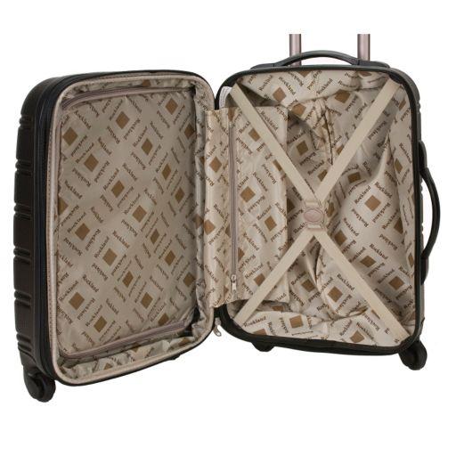 Rockland Melbourne 20-Inch Hardside Spinner Carry-On Luggage