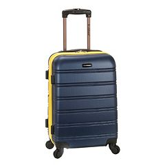 Rockland Melbourne 20-Inch Hardside Spinner Carry-On Luggage