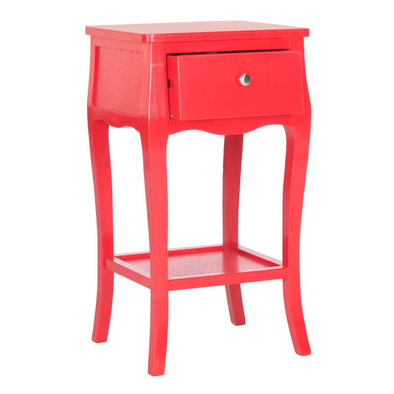 Safavieh Thelma End Table, Red