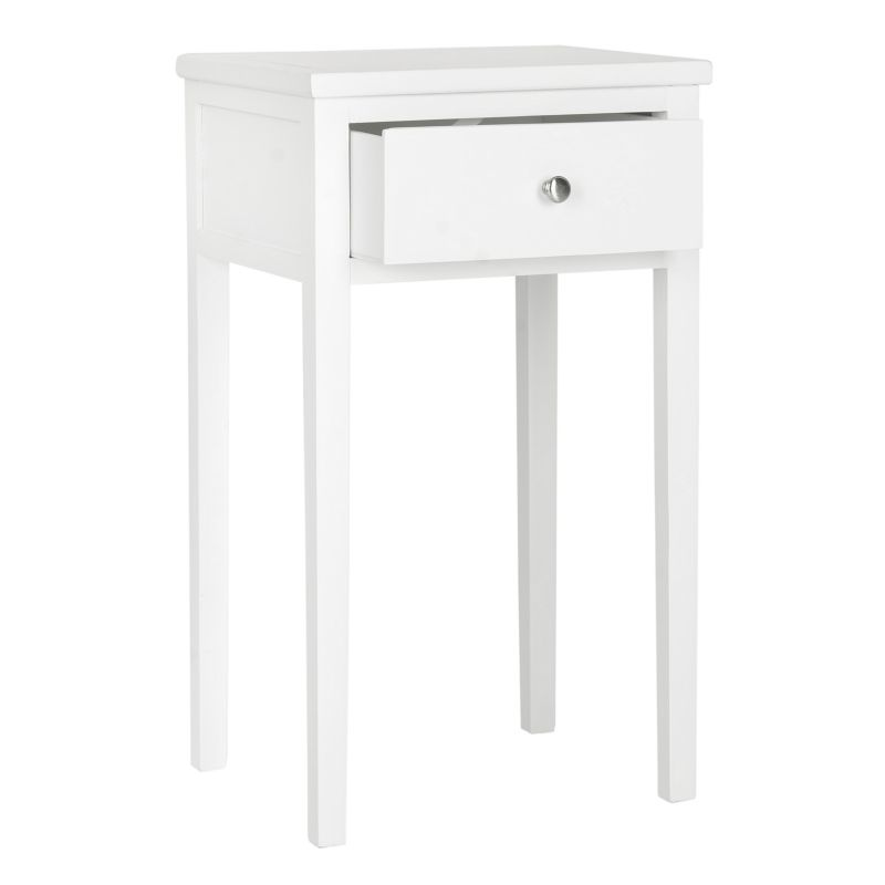 Safavieh Abel End Table, White