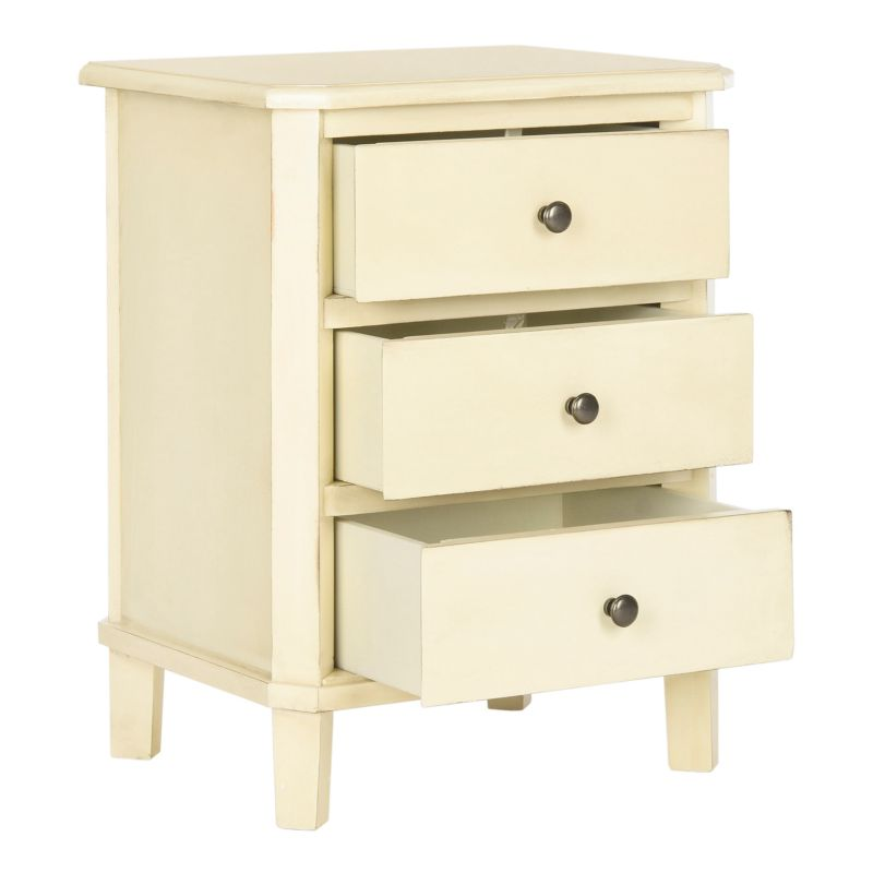 Safavieh Joe Cream End Table, Natural