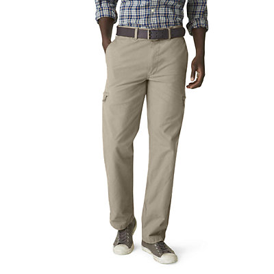 Men's Dockers® Crossover D3 Classic-Fit Flat-Front Cargo Pants