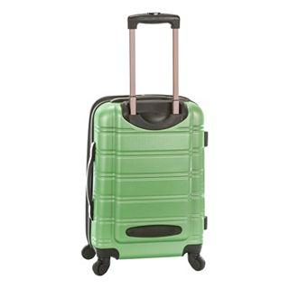 2eb7c141cd9a Rockland Melbourne 3-Piece Hardside Spinner Luggage Set