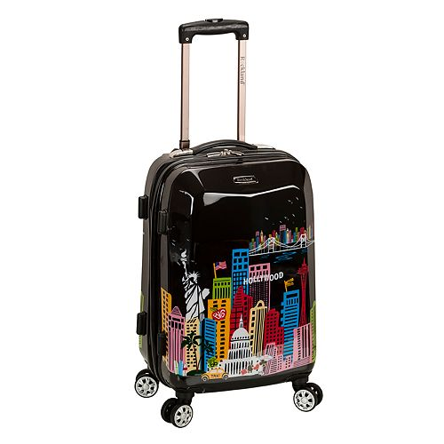 Rockland 20-Inch Hardside Spinner Carry-On Luggage