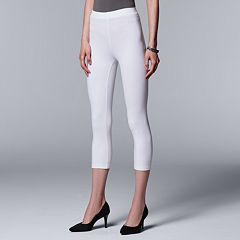 Simply Vera Vera Wang Cotton Capri Leggings