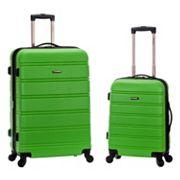 Rockland 2 pc Hardside Spinner Luggage Set