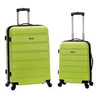 Rockland 2-Piece Hardside Spinner Luggage Set