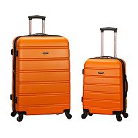 Rockland 2-Piece Hardside Spinner Luggage Set