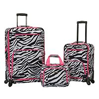 Rockland 3-Piece Spinner Expandable Luggage Set