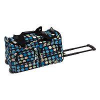 Rockland 22-Inch Rolling Duffel Bag