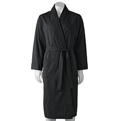 Men's Hanes Lightweight Woven Shawl Robe