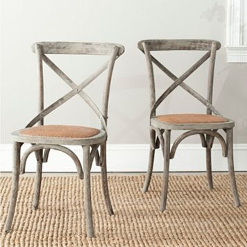 Safavieh 2-pc. Franklin Chair Set