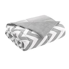 Intelligent Design Down Alternative Chevron Throw
