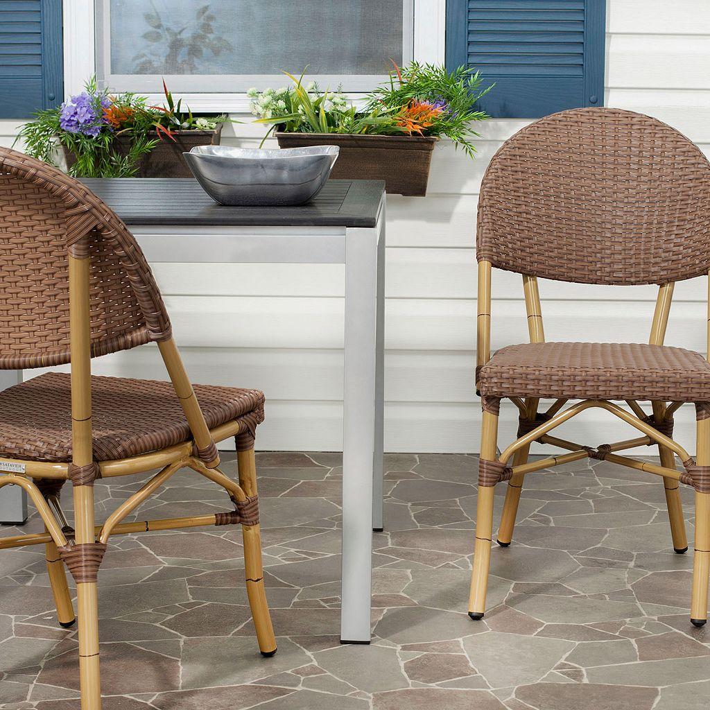 Safavieh 2-pc. Barrow Stackable Chair Set - Indoor and Outdoor