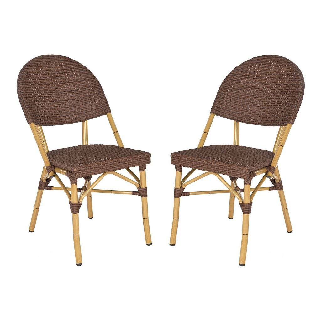 Safavieh 2-pc. Barrow Stackable Chair Set - Indoor & Outdoor